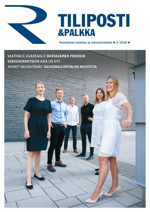 Tiliposti & palkka 2-2018 kansikuva